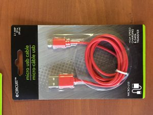 Red Charging Cable